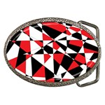 Shattered Life Tricolor Belt Buckle (Oval)