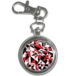 Shattered Life Tricolor Key Chain Watch