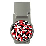 Shattered Life Tricolor Money Clip (Round)
