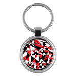 Shattered Life Tricolor Key Chain (Round)