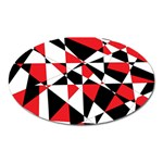Shattered Life Tricolor Magnet (Oval)