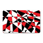 Shattered Life Tricolor Magnet (Rectangular)
