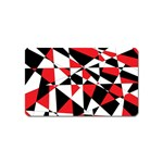 Shattered Life Tricolor Magnet (Name Card)