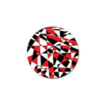 Shattered Life Tricolor Golf Ball Marker