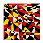 Shattered Life With Rays Of Hope Ceramic Tile