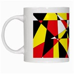 Shattered Life With Rays Of Hope White Coffee Mug