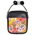 Pasley Print Girls Sling Bag