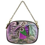 Rendition Of An Owl Butterfly Chain Purse (One Side)
