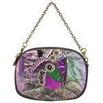 Rendition Of An Owl Butterfly Chain Purse (Two Sides)