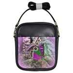 Rendition Of An Owl Butterfly Girls Sling Bag
