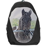 Color Horse Backpack Bag