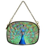 Peacock 1 Chain Purse (One Side)