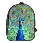 Peacock 1 School Bag (Large)