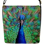 Peacock 1 Flap Closure Messenger Bag (S)