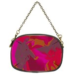 Camo In Pink 1 Chain Purse (Two Sides)