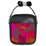 Camo In Pink 1 Girls Sling Bag