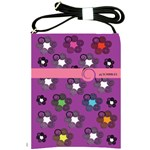 Purple Stars Shoulder Sling Bag
