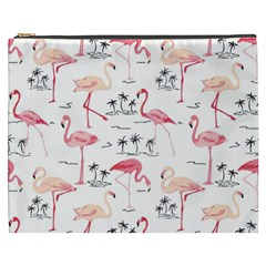 Flamingo Pattern Cosmetic Bag (xxxl)  by Contest580383