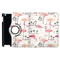 Flamingo Pattern Apple Ipad 3/4 Flip 360 Case by Contest580383