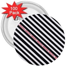 Selina Zebra 3  Buttons (100 Pack)  by Contest580383