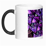 Blue purple Shattered Glass Morph Mugs