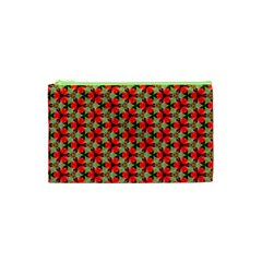 Lovely Trendy Pattern Background Pattern Cosmetic Bag (xs) by creativemom