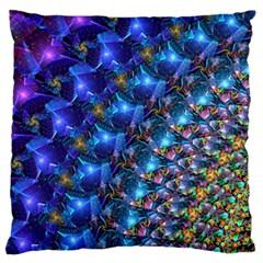 Sunrisetweakedinpreviewbiggerjpg Standard Flano Cushion Cases (two Sides)  by KirstenStar