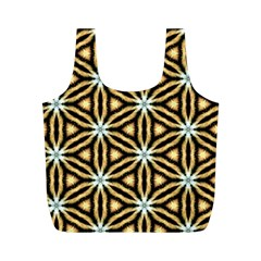 Faux Animal Print Pattern Full Print Recycle Bags (m)  by creativemom