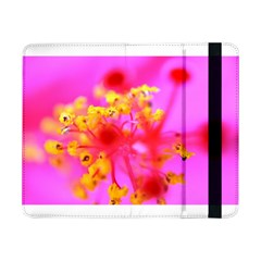 Bright Pink Hibiscus 2 Samsung Galaxy Tab Pro 8 4  Flip Case by timelessartoncanvas