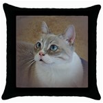 Lolo Throw Pillow Case (Black)