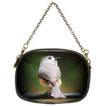 Bird Finch Two Desktop Version Chain Purse (Two Sides)