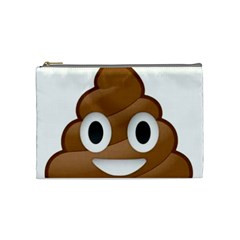 Poop Cosmetic Bag (medium)  by redcow