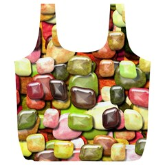 Stones 001 Full Print Recycle Bags (l)