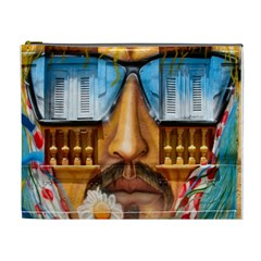 Graffiti Sunglass Art Cosmetic Bag (xl) by TheWowFactor