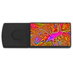 Biology 101 Abstract Usb Flash Drive Rectangular (4 Gb)  by TheWowFactor