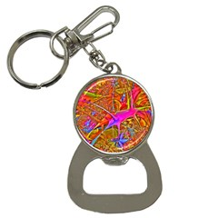 Biology 101 Abstract Bottle Opener Key Chains