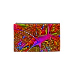 Biology 101 Abstract Cosmetic Bag (small)  by TheWowFactor