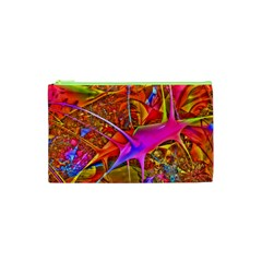 Biology 101 Abstract Cosmetic Bag (xs) by TheWowFactor