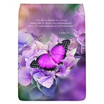 1 John 5 3 In Purple Removable Flap Cover (L)