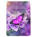 1 John 5 3 In Purple Removable Flap Cover (S)