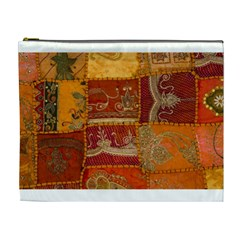 India Print Realism Fabric Art Cosmetic Bag (xl) by TheWowFactor