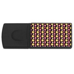 Cute Floral Pattern Usb Flash Drive Rectangular (4 Gb)  by creativemom