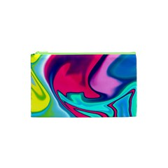 Fluid Art 22 Cosmetic Bag (xs) by ImpressiveMoments