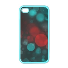 Modern Bokeh 15b Apple Iphone 4 Case (color) by ImpressiveMoments
