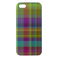 Plaid, Cool Iphone 5s Premium Hardshell Case by ImpressiveMoments