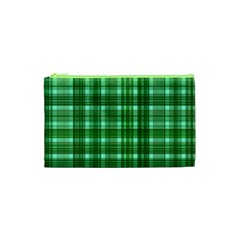Plaid Forest Cosmetic Bag (xs) by ImpressiveMoments