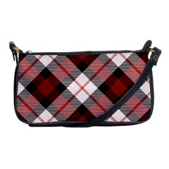 Smart Plaid Red Shoulder Clutch Bags by ImpressiveMoments