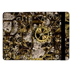 Metal Steampunk  Samsung Galaxy Tab Pro 12 2  Flip Case by MoreColorsinLife