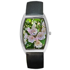 Amazing Garden Flowers 35 Barrel Metal Watches