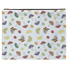 Mushrooms Pattern Cosmetic Bag (xxxl)  by Famous